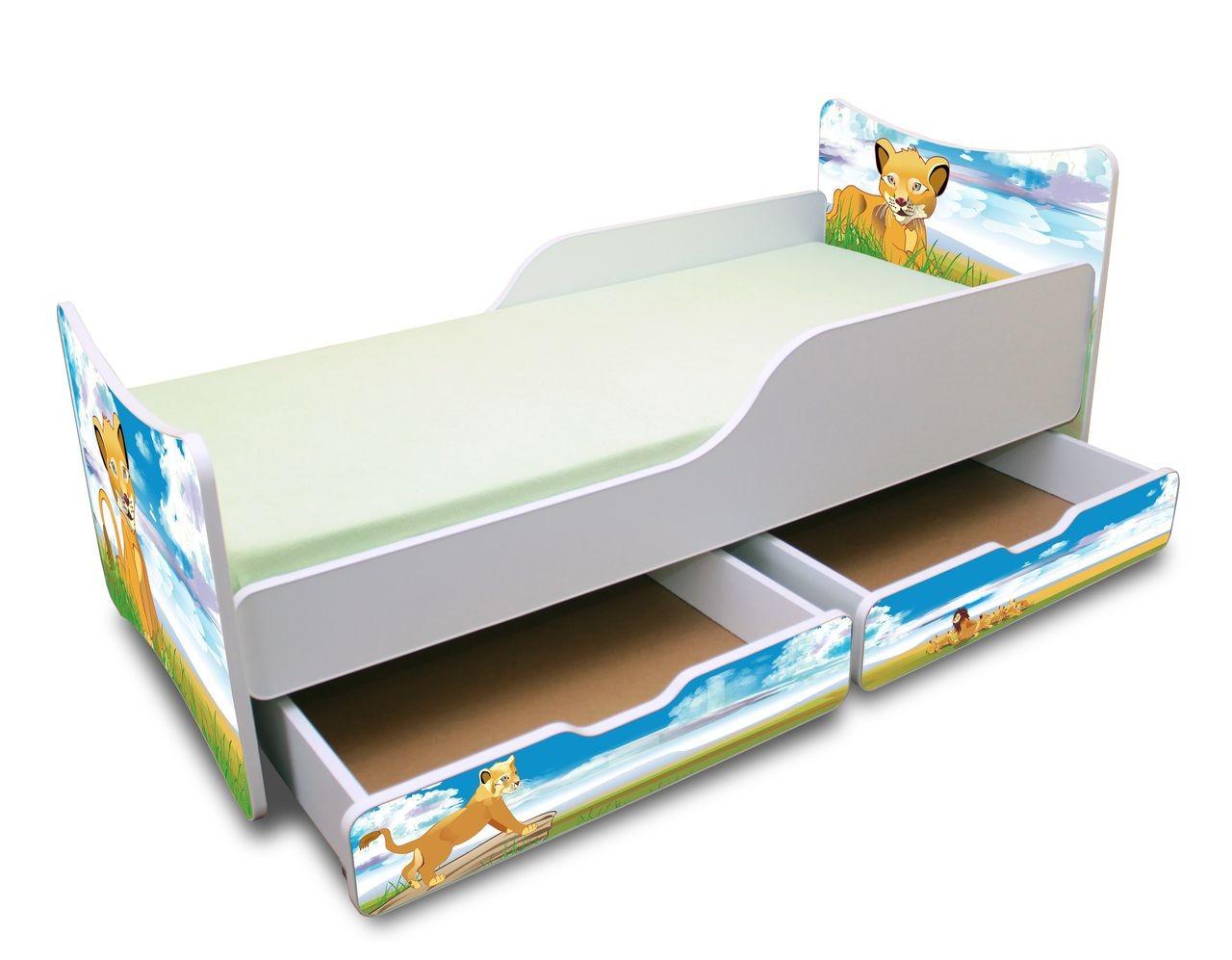 d tsk postel baby 180 x 80 cm s lo n m prostorem fh n bytek. Black Bedroom Furniture Sets. Home Design Ideas