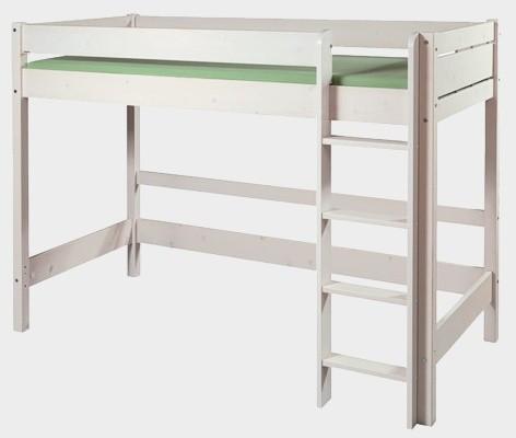 Patrová postel Bella vysoká bílá (B0387)