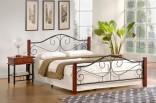 Kovová postel Violetta 160 x 200 cm