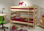 Etážová postel Sendy 90 x 200 cm, výška 155 cm (300+300+301)