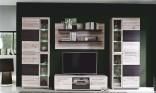 Obývací stěna ALLISTER JZ1 dub písek/touchwood