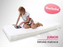 Dětská matrace Junior 180 x 80 cm