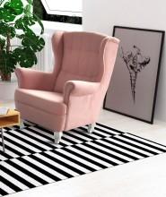 Křeslo WINSDOR Pink