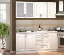 Kuchyňská linka VICTORIE 180 cm bílý santál