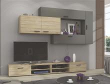 Obývací stěna LIVE sonoma/grafit