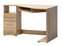 Rohový psací stůl FATRA dub wotan levý