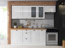 Kuchyňská linka ATTILA 180/240 cm bílý lesk