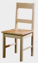 Židle II. přírodní (743)