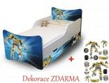 Dětská postel Baby 200 x 90 cm s úložným prostorem