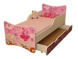 Dětská postel Baby 140 x 70 cm s úložným prostorem