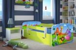 Dětská postel se zábranou Baby Safari 160 x 70 cm