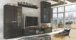 Obývací stěna Malton černá