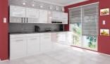 Kuchyňská linka DEVIL 260 cm bílá