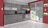 Kuchyňská linka DEVIL 260 cm šedá