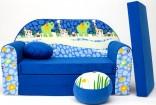 Dětská pohovka BLUE JUNGLE