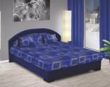 Postel LENKA 170 x 200 cm modrá