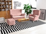 Sedací souprava WINSDOR Pink