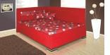 Postel MELISSA 140 x 200 cm červená