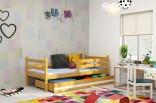 Dětská postel NORBERT 90x200 cm olše