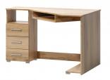 Rohový psací stůl FATRA 17 dub wotan levý