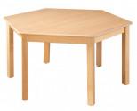 Šestistranný stůl průměr 120 cm U16.11XX