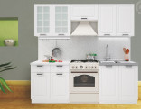 Kuchyňská linka PRAGA 160/220 cm bílá