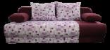 Pohovka LEXUS PIXEL fialová/vzor