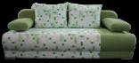 Pohovka LEXUS PIXEL zelená/vzor