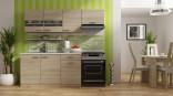 Kuchyňská linka Bode 150/210 cm dub artisan