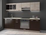 Kuchyňská linka MARION 240 dub ferrara/legno tmavé