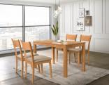 Jídelní set stůl VAŠEK+židle VILMA 1+4 olše