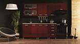Kuchyňská linka ANTON LUX 180/240 cm červená lesk