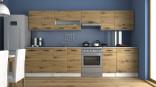 Kuchyňská linka LUIGI III 260/320 dub artisan