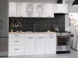 Kuchyňská linka MAGDA 180/240 bílá mat