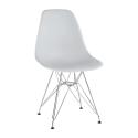 Židle ANISA 2 NEW bílá/chrom