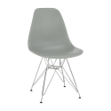 Židle ANISA 2 NEW šedá/chrom