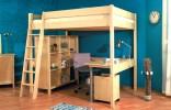 Patrová postel Ráchel - rám 140 x 200 cm, smrk (230) bez schůdků