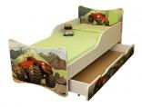 Dětská postel Auto 140 x 70 cm