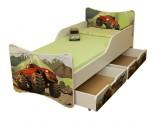 Dětská postel Auto 180 x 80 cm