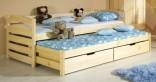 Dětská postel TONČA vysouvací 80x190 cm