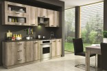 Kuchyňská linka Country 180/240 cm grey