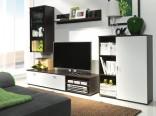 Obývací stěna DINO milano/bílá